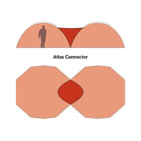 Hilleberg Atlas Koblingsdel Rød